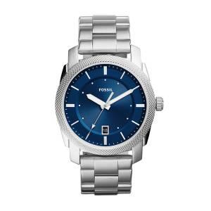 [フォッシル]Fossil  'Machine' Quartz Stainless Steel Casual Watch, Color:SilverToned FS5340