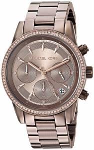 [マイケル・コース]Michael Kors  'Ritz' Quartz Stainless Steel Casual Watch, MK6529