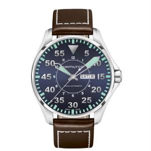 [ハミルトン]Hamilton 腕時計 KHAKI AVIATION PILOT AUTO WATCH H64715545 [並行輸入品]
