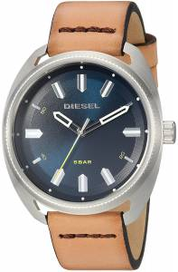 [ディーゼル]Diesel 'Fastbak' Quartz Stainless Steel and Leather Casual Watch, DZ1834