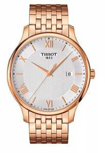 [ティソ]Tissot  Watch Tradition Rose Gold 42mm Stainless Steel T063.610.33.038.00 メンズ