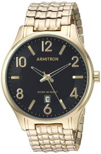 [アーミトロン]Armitron 腕時計 20/5221BKGP メンズ [並行輸入品]