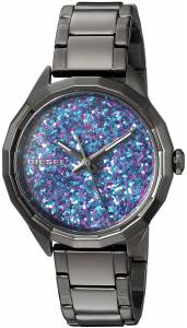 [ディーゼル]Diesel  'Kween B' Quartz Stainless Steel Casual Watch, Color:Grey DZ5554