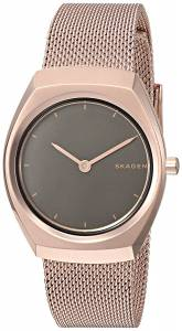 [スカーゲン]Skagen  'Asta' Quartz Stainless Steel Casual Watch, Color:Rose GoldToned SKW2651