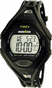 [タイメックス]Timex 腕時計 Black Polyurethane Quartz Sport Watch TW5M10400 メンズ