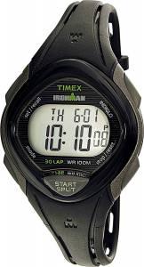 [タイメックス]Timex 腕時計 Black Polyurethane Quartz Sport Watch TW5M10300 レディース