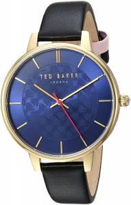 [テッド ベーカー]Ted Baker 'KATE' Quartz Stainless Steel and Leather Casual Watch, TEC0025016