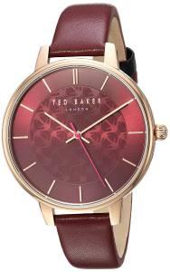 [テッド ベーカー]Ted Baker 'KATE' Quartz Stainless Steel and Leather Casual Watch, TEC0025017
