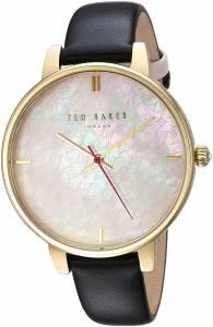 [テッド ベーカー]Ted Baker 'KATE' Quartz Stainless Steel and Leather Casual Watch, TEC0025009