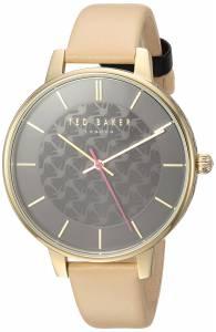 [テッド ベーカー]Ted Baker 'KATE' Quartz Stainless Steel and Leather Casual Watch, TEC0025015