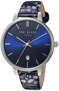[テッド ベーカー]Ted Baker  'KATE' Quartz Stainless Steel and Leather Casual TEC0025010