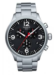 [ティソ]Tissot  Watch Silver 45mm Stainless Steel Chrono XL T116.617.11.057.00 メンズ