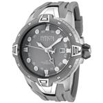 インヴィクタ 時計 Invicta Mens 0652 Reserve Collection Sea Excursion GMT Grey Dial Grey Polyurethane