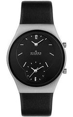 スカーゲン  Skagen 733XLSLB Steel Collection Men's Watch