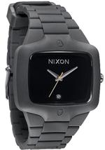 <img class='new_mark_img1' src='https://img.shop-pro.jp/img/new/icons29.gif' style='border:none;display:inline;margin:0px;padding:0px;width:auto;' />ニクソン Nixon A139-195 Rubber Player Gray/Black Men's Watch