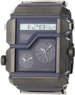 <img class='new_mark_img1' src='https://img.shop-pro.jp/img/new/icons7.gif' style='border:none;display:inline;margin:0px;padding:0px;width:auto;' />ディーゼル 時計 Diesel Mens DZ7178 Grey SBA Analog-Digital Silver and Gunmetal Dial Watch
