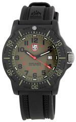 ルミノックス 時計 Luminox Mens 8813 Black Ops Carbon Khaki Dial Watch