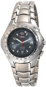 タイメックス 時計 Timex Mens T19281 Classic Alarm Stainless Steel Bracelet Watch
