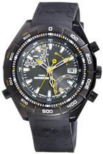 タイメックス 時計 Timex Mens Expedition T49795 Black Resin Quartz Watch with Black Dial