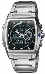 カシオ 時計 Men's Casio Digital Analog Thermometer Watch EFA120D-1A
