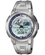 カシオ 時計 Mens Casio Thermometer Watch AQF-102WD-2BV AQF102WD-2BV