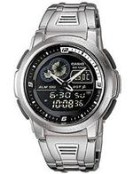 カシオ 時計 Casio Thermometer Watch. AQF-102WD-1BV AQF102WD-1BV