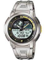 カシオ 時計 Men's Casio Digital Thermometer Watch. AQF-102WD-9BV