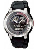 カシオ 時計 Casio Analog Digital Thermometer Watch. AQF-102W-1BV