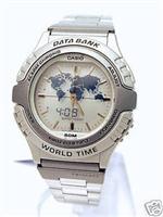 カシオ 時計 Men's Casio Data Bank Watch ABX22BU-8A