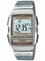 カシオ 時計 Men's Casio Futurist Vibrating Alarm Watch. A220W-1Q