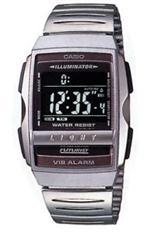 カシオ 時計 Men's Casio Futurist Vibrating Alarm Watch. A220W-1B