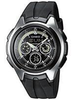 カシオ 時計 Casio Analog Digital Watch. AQ-163W-1B1V AQ163W-1B1V