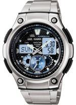 カシオ 時計 Men's Casio Analog Digital Watch AQ190WD-1AV
