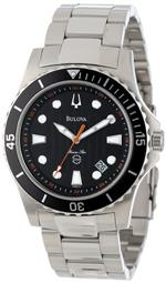 ブローバ 時計 Bulova Mens 98B131 Marine Star Black Dial Bracelet Watch<img class='new_mark_img2' src='https://img.shop-pro.jp/img/new/icons28.gif' style='border:none;display:inline;margin:0px;padding:0px;width:auto;' />