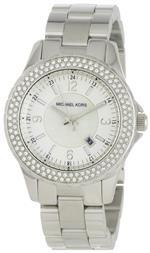 マイケルコース 時計 Michael Kors Womens MK5401 Madison Silver-Tone Watch