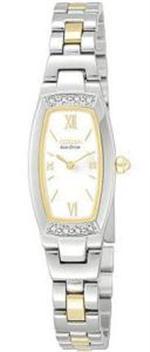 シチズン 時計 Women's Citizen Silhouette Diamond Watch EG2464-59A