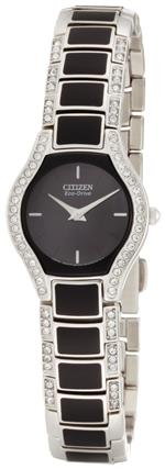 シチズン 時計 Citizen Womens EW9870-64E Eco-Drive Normandie Black Resin Watchand Bracelet Set<img class='new_mark_img2' src='https://img.shop-pro.jp/img/new/icons32.gif' style='border:none;display:inline;margin:0px;padding:0px;width:auto;' />