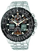 シチズン 時計 Citizen Mens JY0000-53E quotSkyhawk A-Tquot Eco-Drive Watch