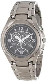 シチズン 時計 Citizen Mens AT0940-50E Eco-Drive Titanium Chronograph Black Dial Watch<img class='new_mark_img2' src='https://img.shop-pro.jp/img/new/icons32.gif' style='border:none;display:inline;margin:0px;padding:0px;width:auto;' />
