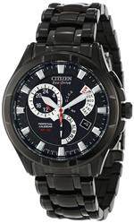 シチズン 時計 Citizen Quartz Eco Drive Calibre 8700 Black Dial Mens Watch CZ BL8097-52E