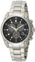シチズン 時計 Citizen Mens BL5380-58E Eco-Drive Perpetual Calendar Chronograph Watch