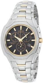 シチズン 時計 Citizen Mens AT0884-59E Eco-Drive Chronograph Two-Tone Stainless Steel Watch