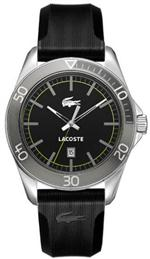 ラコステ 時計 Men's Lacoste Black Sport Navigator Watch 2010509