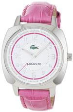 ラコステ 時計 Lacoste Sportswear Collection Palma Leather Strap White Dial Womens watch #2000599<img class='new_mark_img2' src='https://img.shop-pro.jp/img/new/icons5.gif' style='border:none;display:inline;margin:0px;padding:0px;width:auto;' />