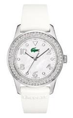 ラコステ 時計 Lacoste Advantage White Strap Ladies Watch 2000647