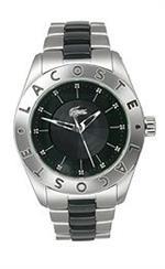 ラコステ 時計 Lacoste Club Collection Biarritz Black Dial Womens watch #2000583