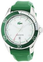 ラコステ 時計 Lacoste Sport Navigator Green Rubber Mens Watch 2010550