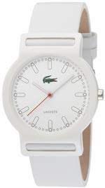 ラコステ 時計 Lacoste White Leather Band Ladies Watch - 2010484<img class='new_mark_img2' src='https://img.shop-pro.jp/img/new/icons4.gif' style='border:none;display:inline;margin:0px;padding:0px;width:auto;' />