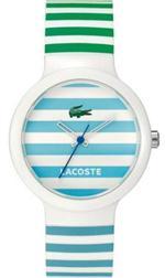 ラコステ 時計 Men's Lacoste Goa Polyurethane Watch 2010565