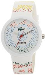 ラコステ 時計 Lacoste Goa White Polyurethane Unisex Watch 2010531<img class='new_mark_img2' src='https://img.shop-pro.jp/img/new/icons11.gif' style='border:none;display:inline;margin:0px;padding:0px;width:auto;' />
